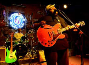 "Young guitar sensation, Christone ""Kingfish"" Ingram often plays at Ground Zero Blues Club and Reds Lounge."