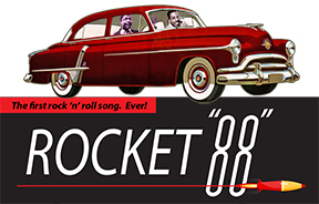 Rocket 88, the first rock 'n' roll song came from here.
