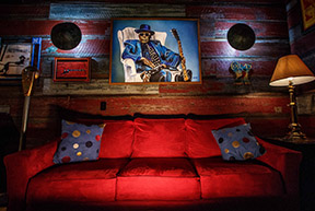 A room at the Hooker Hotel