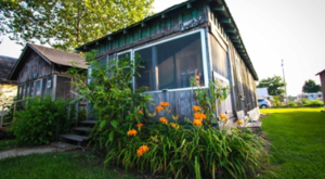 The Pinetop Perkins suite at the Shack Up Inn