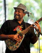 "Clarksdale favorite, ""Super Chikan"" plays tonight.(photo Darrin Phegley / The Gleaner)"