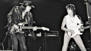 Jeff Beck and Stevie Ray Vaughan.