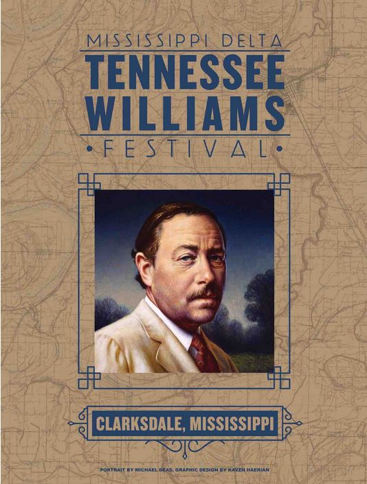 Tennessee Williams Festival 1018, Clarksdale, Mississippi.