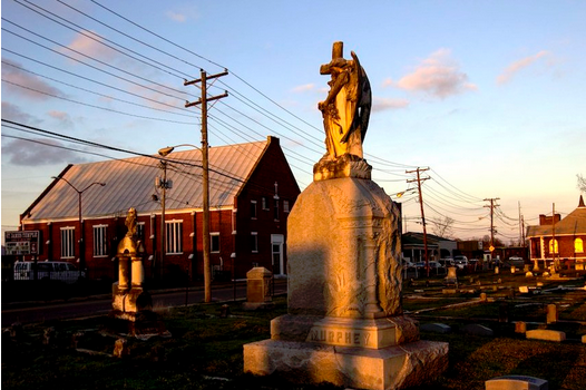 Cemetary, Tennessee Williams Festival, Clarksdale.